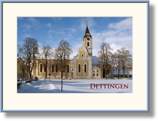Die Dettinger Pfarrkirche